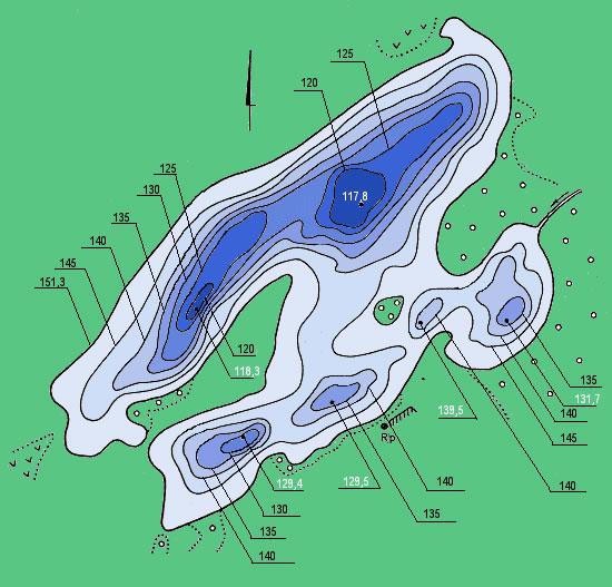 Geriausias batimetriniai ežerų planai